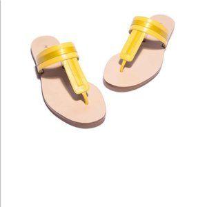 M.Gemi Banda Sandal in Sunflower Leather
